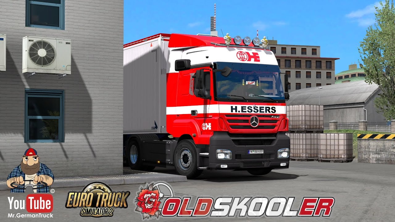 [ETS2 v1.36] Mercedes Axor + New Sound & ALL DLC´s ready