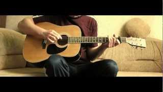 Timbaland - Apologize (acoustic guitar cover)