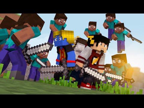 Minecraft: GANHAR SEM TIME? - 100 PLAYERS SKY WARS ‹ AM3NlC ›