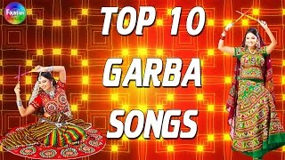 Gambar cover Top 10 Navratri Garba Gujarati Non stop - Fast Garba Songs | Gujarati Garba Songs 2016