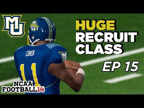NCAA Football 14 Dynasty   Marquette - OFFSEASON! I HIT EM WITH THAT RECRUITING CHEESE - Ep 15