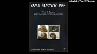 The Beatles - One after 909