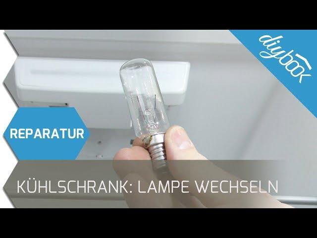 Siemens Kühlschrank Glühbirne : Kühlschrank lampe wechseln anleitung diybook at