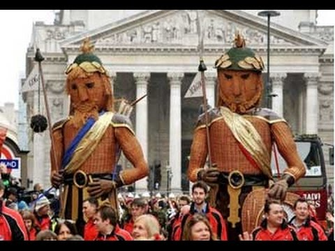 Image result for pictures of city of london gog and magog