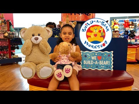 Build A Bear Workshop | First Stuffed Animal For Abi!