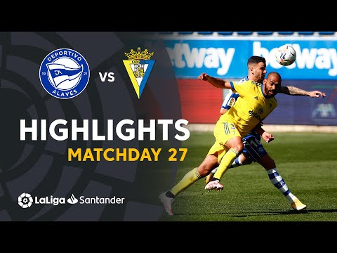 Alaves Cadiz Goals And Highlights