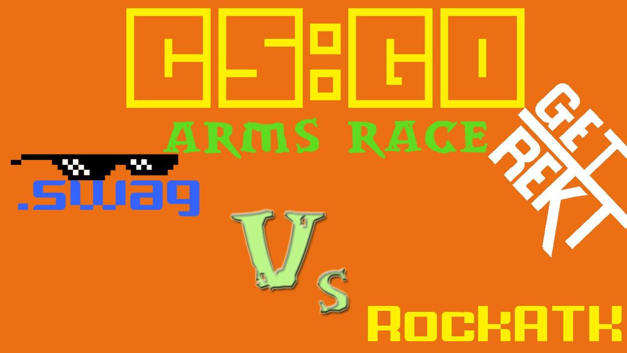 how to play arms race cs go