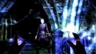 Skyrim #20 Dawnguard: Chasing echoes - Stuck in Volkihar ruin? Secret passage