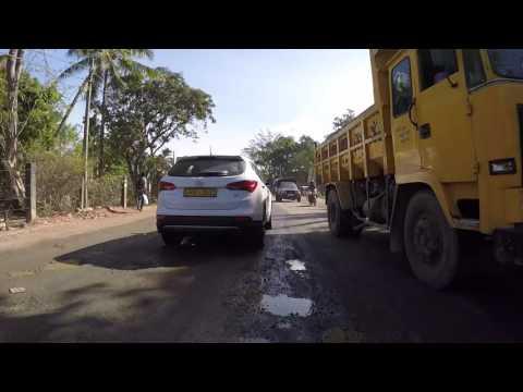Sri Lanka Route Colombo vers Dambulla, Gopro / Sri Lanka Road Colombo Dambulla, Gopro