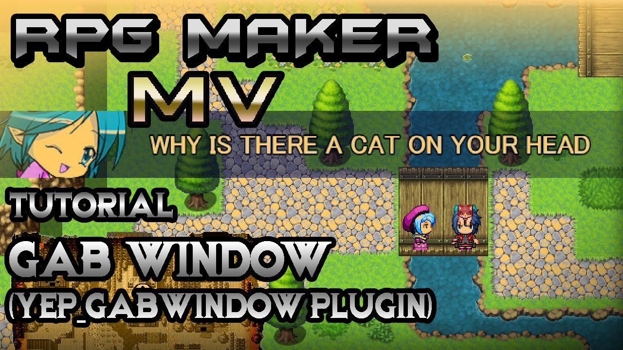 RPG Maker MV Tutorial: Epic Banter Window! (YEP_GabWindow Plugin)
