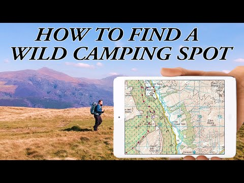 Planning Wild Camping Trips For Beginners, How I Plan My Wild Camps