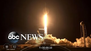 SpaceX successfully launches 1st civilian mission