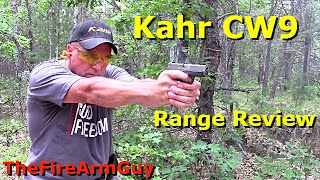 kahr cw9 carbon fiber finish range review thefirearmguy