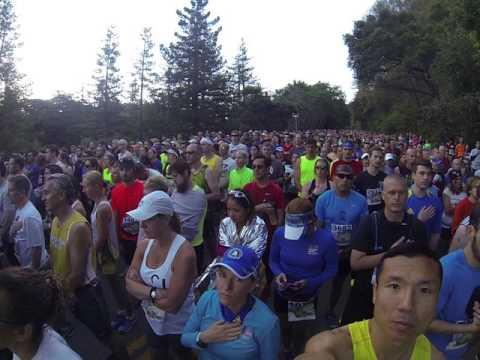 Big Sur International Marathon 2017 Race Start
