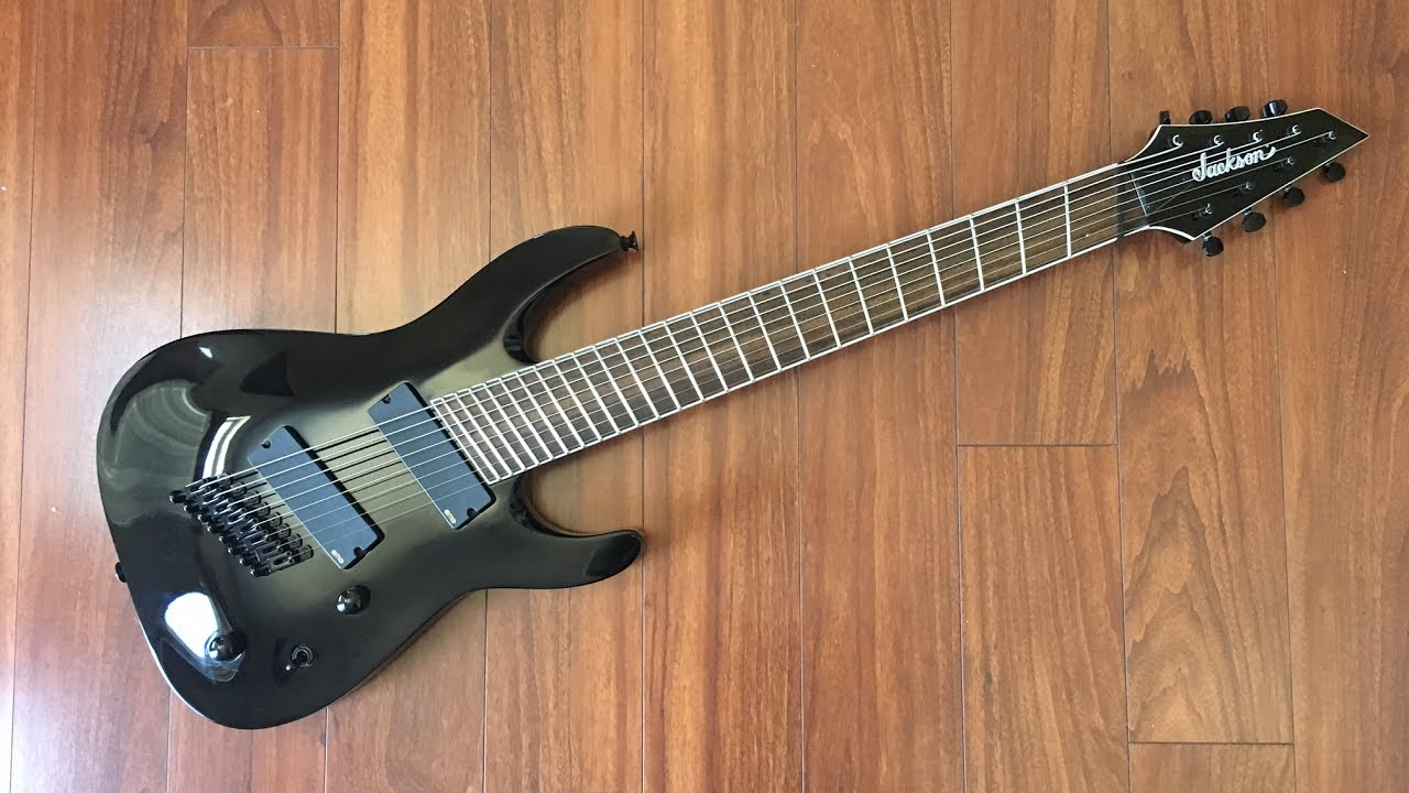 unbiased gear review jackson slat8ff soloist 8 string guitar youtube. Black Bedroom Furniture Sets. Home Design Ideas