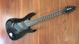 UNBIASED GEAR REVIEW - Jackson SLAT8FF Soloist 8-string Guitar