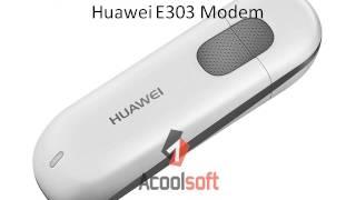 Unlock Huawei E303 Modem