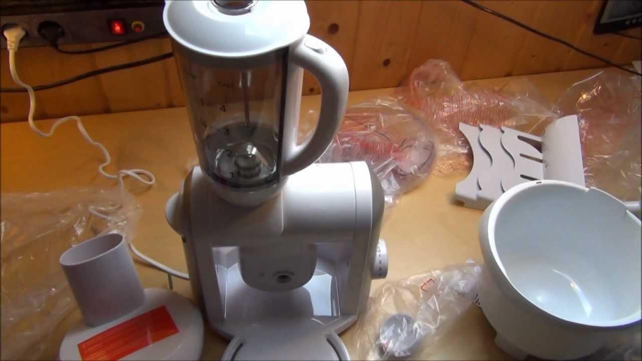 Kitchen Machine LIDL SilverCrest Kchenmaschine  YouTube