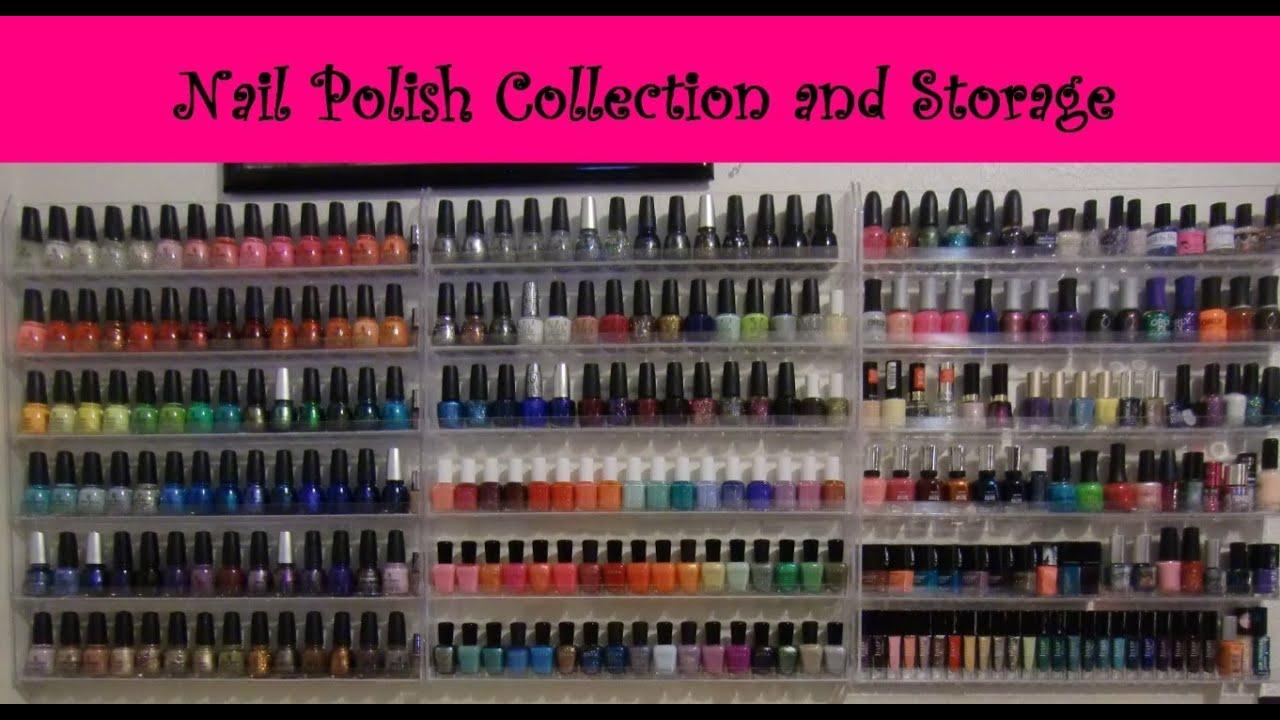 💅 EPIC Nail Polish Collection & Storage 💅 - YouTube