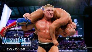 FULL MATCH - Kurt Angle vs. Brock Lesnar – WWE Title Match: WrestleMania XIX