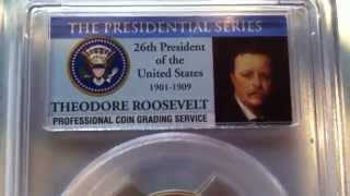 2013 Theodore Roosevelt Presidential Dollar PCGS PR69DCAM