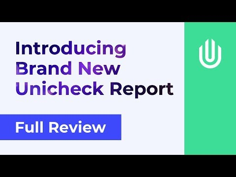Full overview of a new Unicheck report | Best Turnitin Alternative