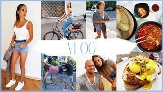 Vlog - Food Porn - MEGA Szene - Hamburg - Fahrrad durch Berlin - Big Business ;)))