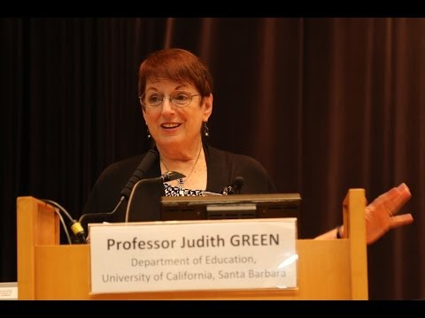 "Prof. Judith GREEN ""Education and Technology Partnerships as Intercultural Communities"""