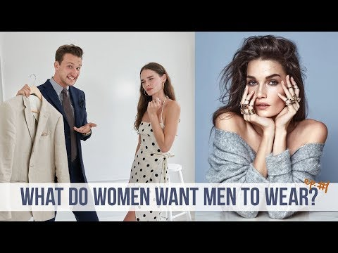 Model Reviews my Menswear Outfits | What Women Want Men to Wear #1