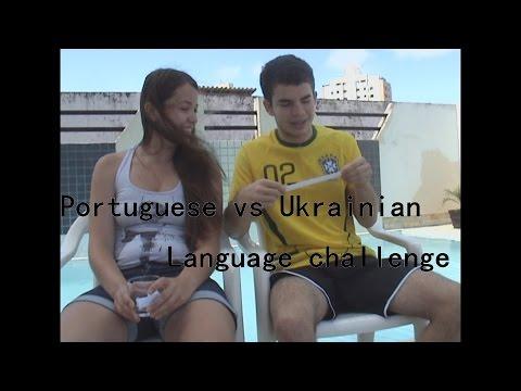 Portuguese vs Ukrainian | Language challenge