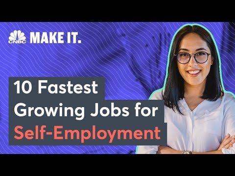 The Hottest Self Employment Jobs
