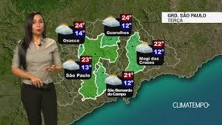 Previsão Grande SP – Frio diminui e não chove