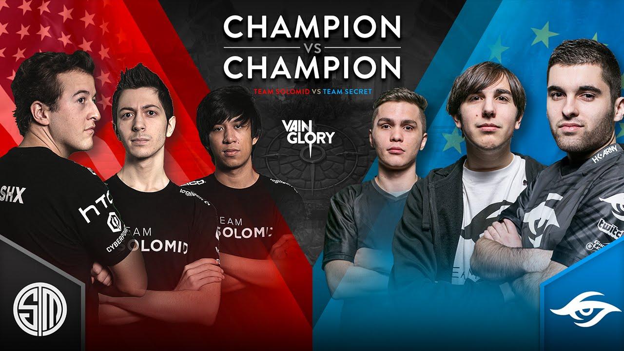 Champion vs Champion - TSM vs Team Secret - Match 4
