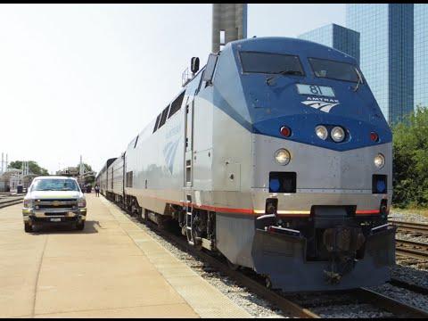 Amtrak 21 Texas Eagle (Chicago - Dallas) 8-22-2015 Onboard Footage