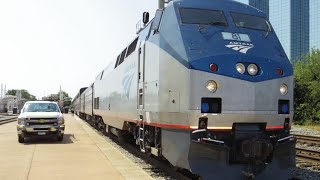 Amtrak 21 Texas Eagle (Chicago - Dallas) 8-22-2015 Onboard Footage