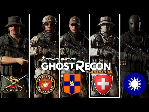 Ghost Recon Wildlands: Special Forces Outfits: U.S Marines, Dutch Marines, British Army and more