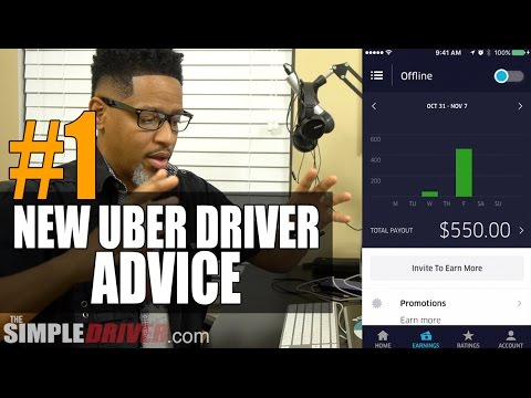 #1 Advice For New Uber Drivers Who [Want To Make Money]