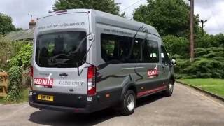 Red Kite Ford Transit 17 seat Demo