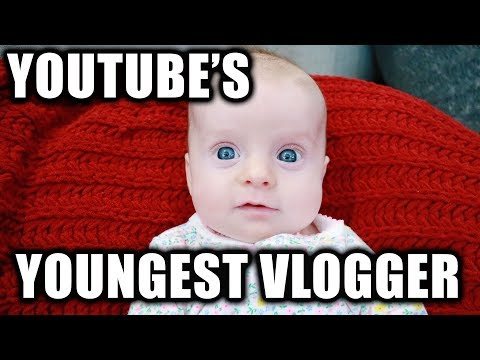 YOUTUBE'S YOUNGEST VLOGGER