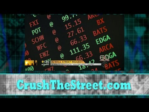 High Frequency Trading...Manipulation or Not?