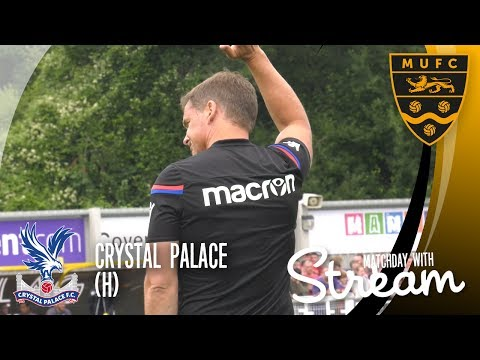 Maidstone United Vs Crystal Palace (15/07/17): GOALS