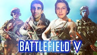 BFV OPEN BETA YOUTUBER SHOWDOWN!!!  ft. Vikkstar123, Fe4RLess, & More!!