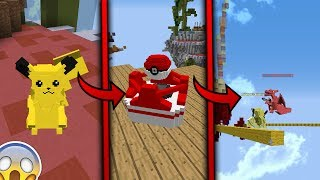 QUE PASA SI FUSIONAS POKEMON Y BEDWARS?!! | (Minecraft POKEWARS)