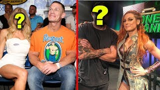 10 wwe wrestlers currently single in real life 2018   john cena  becky lynch   more