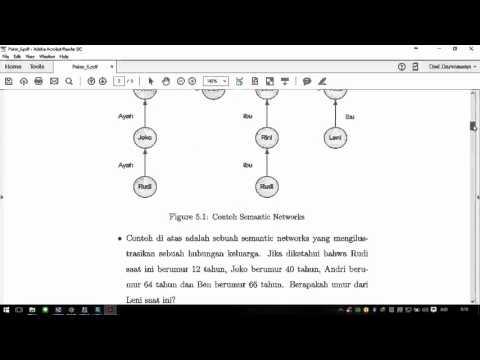 Definisi Dan Contoh Dari Semantic Network