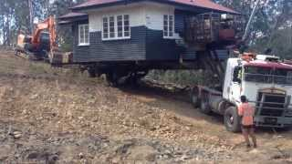 House move down steep hill