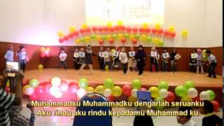 rindu muhammadku (lirik)-hadad alwi
