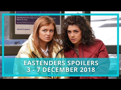 EastEnders Spoilers | 3rd - 7th December 2018