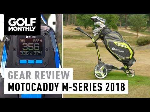 2018 Motocaddy M-Series Electric Trolleys Review | Golf Monthly