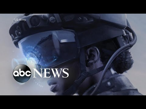 Army designing new futuristic goggles for US soldiers